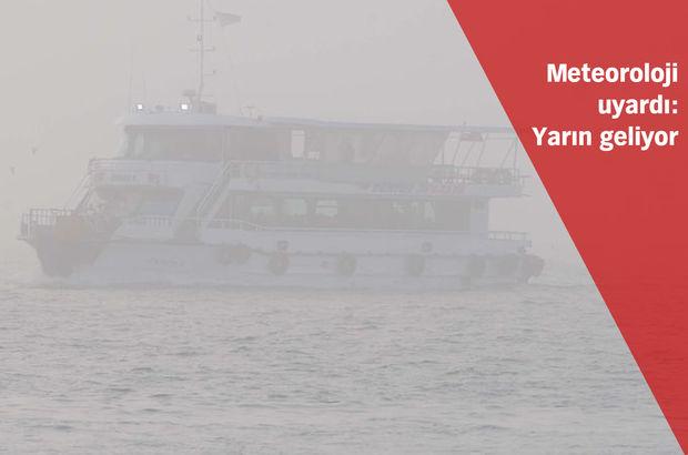 İstanbul sis altında!