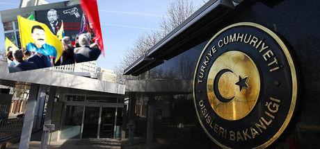 Dışişleri, İsviçre'nin Ankara Büyükelçisi yardımcısını çağırdı