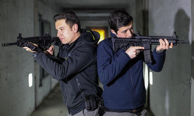 Bakan Işık'a yerli silah MPT-55'li koruma