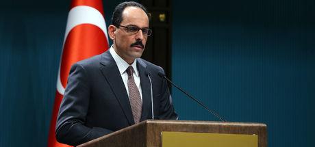 Cumhurbaşkanlığı Sözcüsü İbrahim Kalın'dan İsviçre'ye tepki