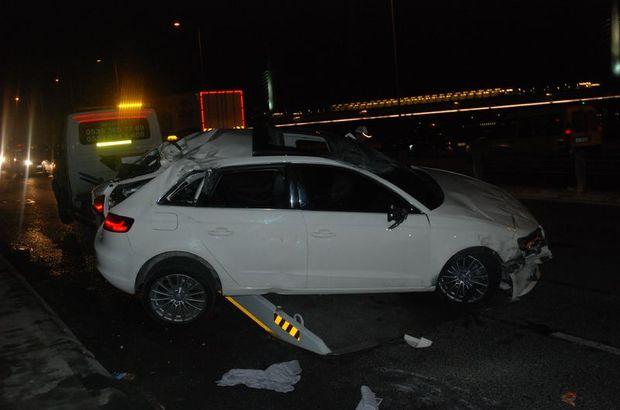 Fatih'te trafik kazaları: 3 yaralı