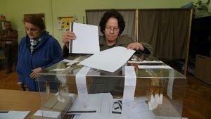 Bulgaristan'da halk sandık başında