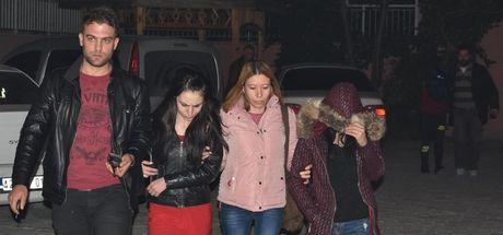 Konya'da fuhuş pazarlığı yaparken yakalandılar