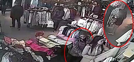 İstanbul'daki cep telefonu hırsızlığında küçük çocuğu kullandı!
