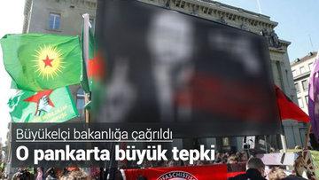 Skandal pankarta sessiz kaldılar