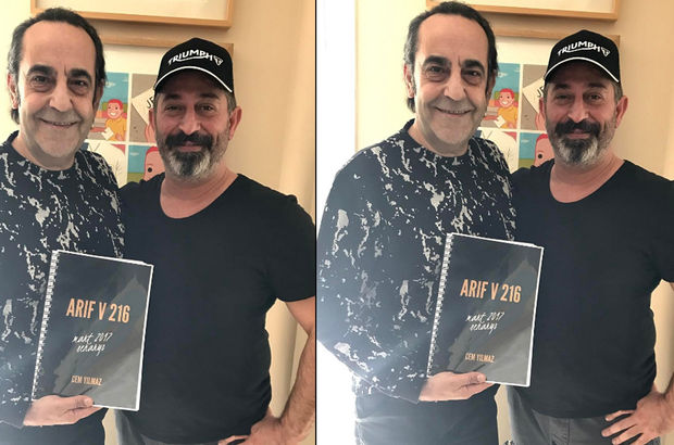 Cem Yılmaz'ın yeni filmi Arif V 216'ya yeni oyuncu