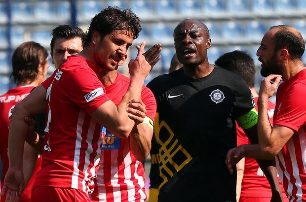 Osmanlıspor: 1 - Boluspor: 2 | MAÇ SONUCU