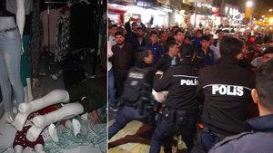 Şanlıurfa'da polise kafa attığı için linç edilmek istenen şahıs Türk çıktı