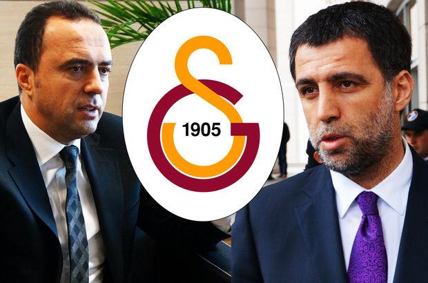 Galatasaray yönetiminden Hakan Şükür ve Arif Erdem kararı