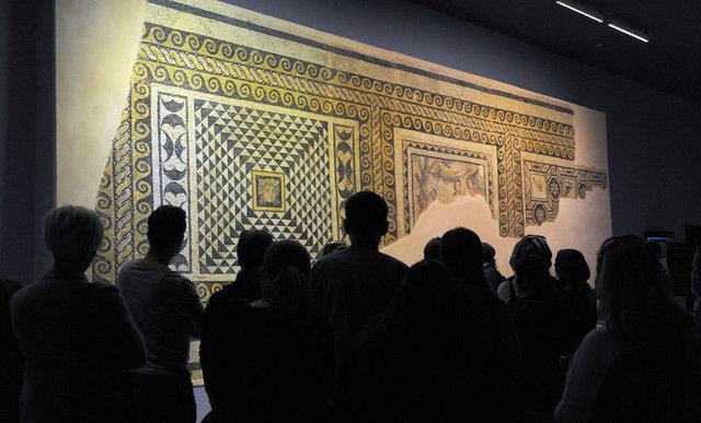 Dünyanın en büyük mozaik müzesi ziyaretçilerini bekliyor