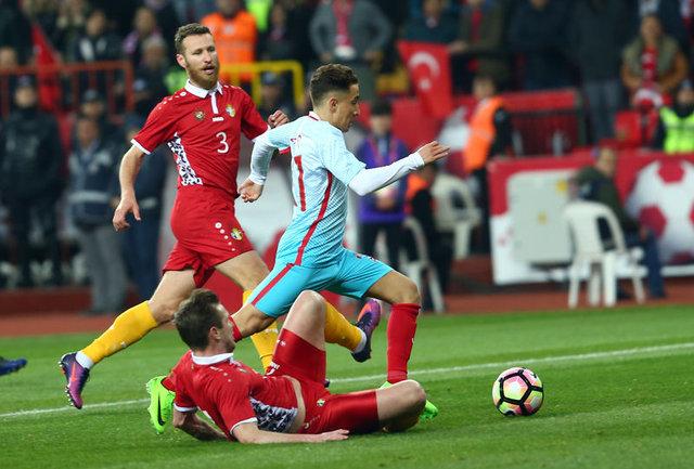 Emre Mor'un Moldova'ya attığı gol!