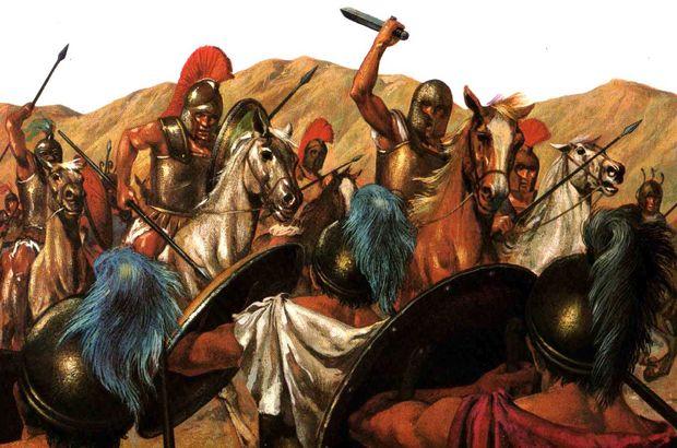 Romalılar, Hunlar sayesinde hayatta kalmış!
