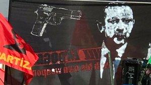 İsviçre'deki skandal pankarta soruşturma
