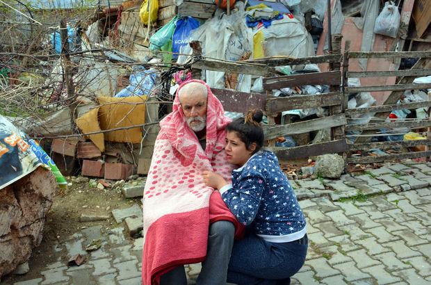 Tokat Erbaa'da yaşlı çifti yangından torunları kurtardı