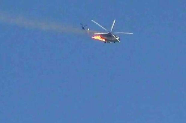 Suriyeli muhaliflerden 'helikopter düşürdük' iddiası!
