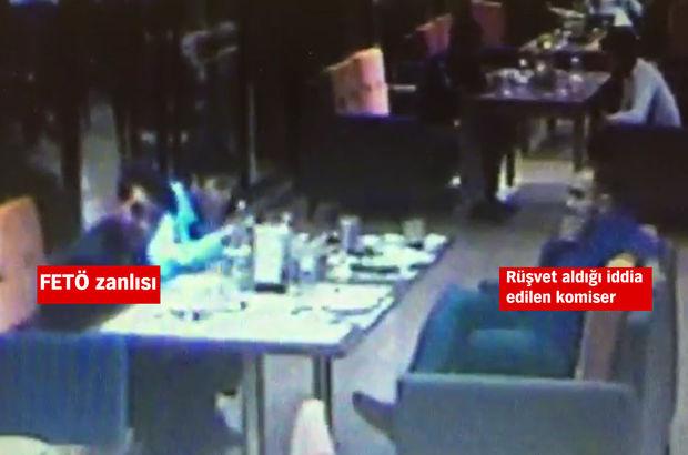 İstanbul'da komisere suçüstü rüşvet operasyonu