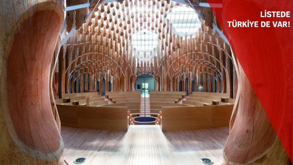 Ölmeden önce görmeniz gereken 32 mimari yapı
