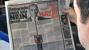 Mevlüt Çavuşoğlu'ndan Alman Bild gazetesinin manşetine tepki