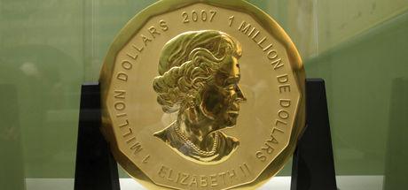 Berlin'de müzeden 100 kiloluk hatıra altın para çalındı
