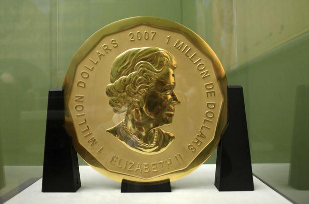 100 kiloluk altın parayı müzeden çaldılar