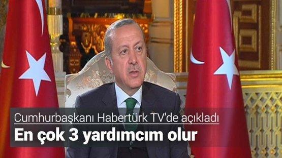 Cumhurbaşkanı Erdoğan canlı yayında konuştu