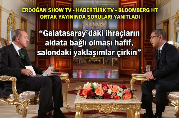 Erdoğan, Alman Bild gazetesine yanıt verdi: Atatürk yaşasaydı 'evet' derdi