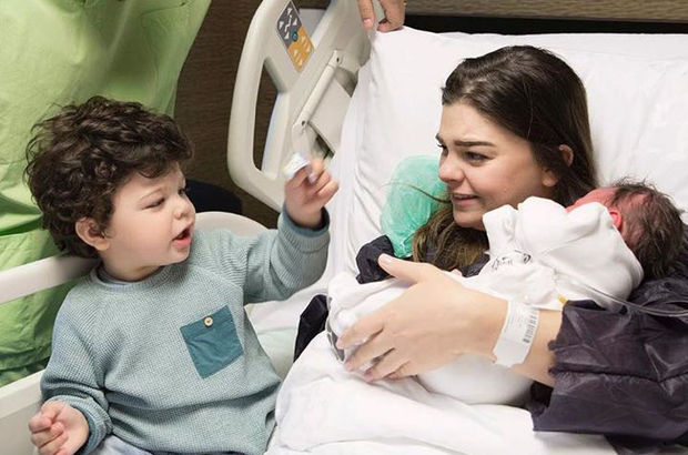 Pelin Karahan doğum yaptı