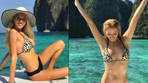 Dilara Öztunç'un tatil fotoğrafları sosyal medyayı salladı
