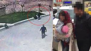 Fatih'te bir kişi bebeğiyle uyuşturucu satarken yakalandı