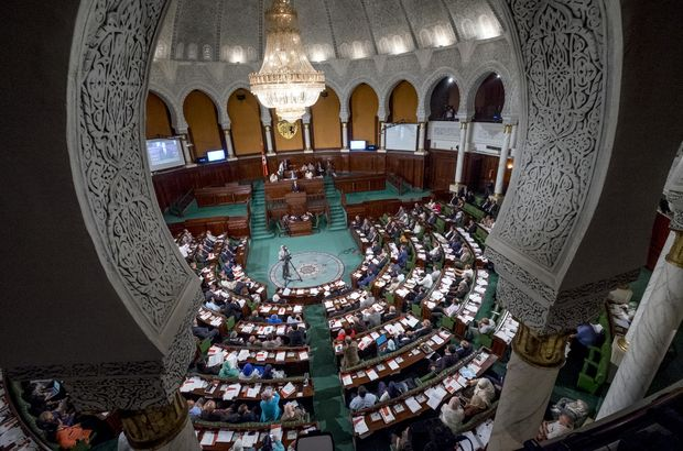 Bıçaklı kişi, Tunus parlamentosuna girmeye çalıştı