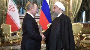 Putin'le Ruhani Kremlin'de bir araya geldi