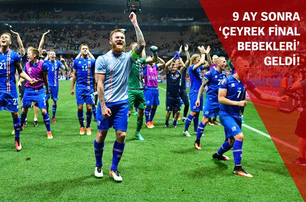 İzlanda Milli Takımı'nın zaferi yatak odalarına yansıdı!