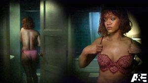 Ünlü şarkıcı Rihanna, duş sahnesi için soyundu