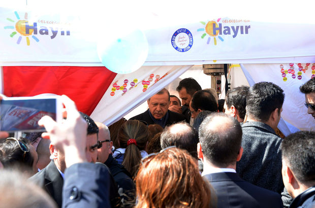 Cumhurbaşkanı'nın 'hayır' ziyaretine CHP'den ilk yorum