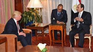 Donald Trump, Sisi ile görüşecek