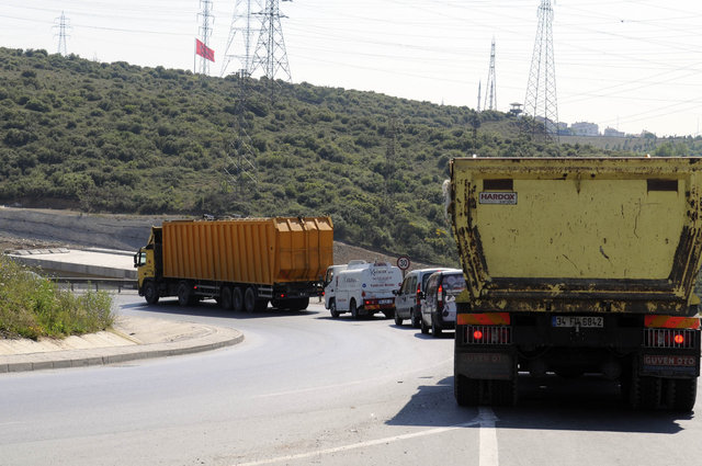 İstanbul'da 14 hafriyat alanından 7'si tam doldu