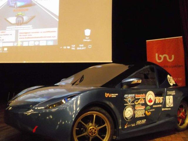 KTÜ öğrencileri 2 TL'lik enerji harcayan otomobil üretti!
