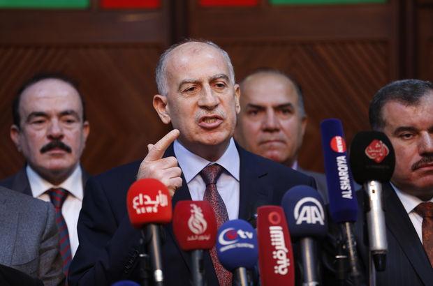 Irak Cumhurbaşkanı Yardımcısı Usame en-Nuceyfi