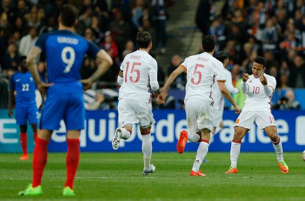 Fransa: 0 - İspanya: 2 | MAÇ SONUCU