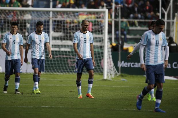 Arjantin, Dünya Kupası'na gidemeyebilir