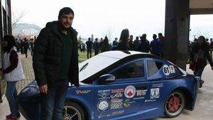 KTÜ öğrencileri 2 TL'lik enerji harcayan otomobil üretti