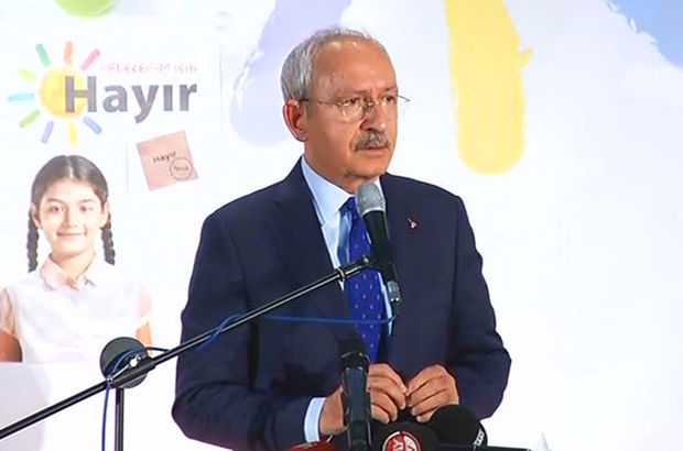 Kılıçdaroğlu Kayseri'de konuştu