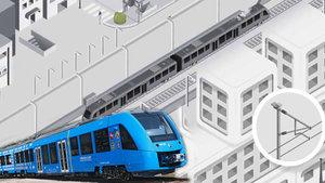 Hidrojen enerjili tren ilk testini yaptı!