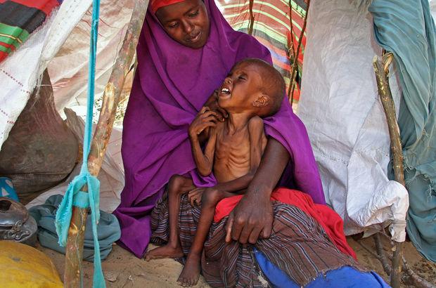 Somali'de her gün 3 bin kişi evini terk ediyor!