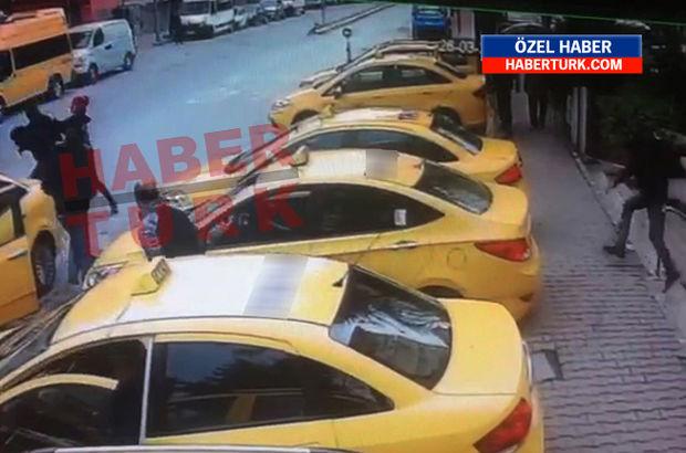 İstanbul'da yaşanan taksici rezaletinin görüntüleri ortaya çıktı