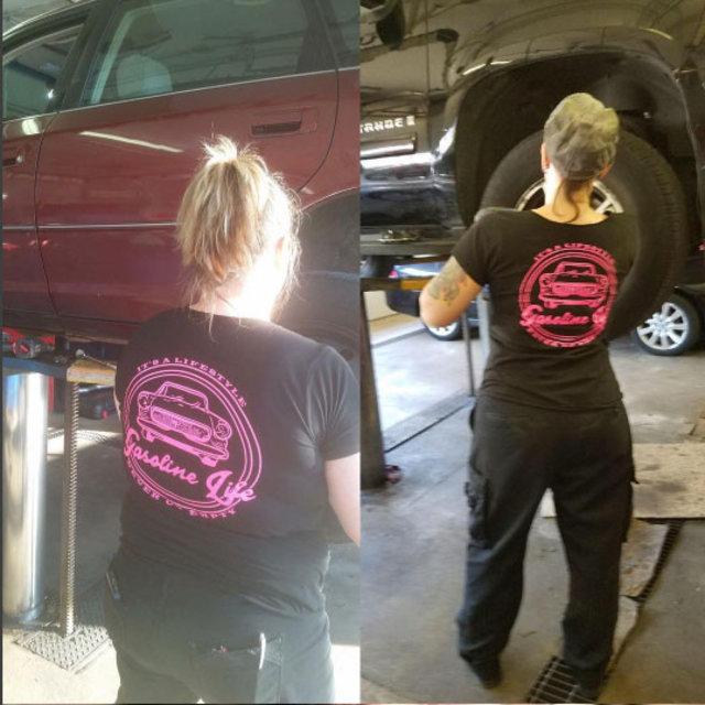 Artık kadınların da kendilerine özel araba tamircileri var!
