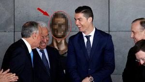 Cristiano Ronaldo'nun Büstü Ronaldo'ya benzemedi