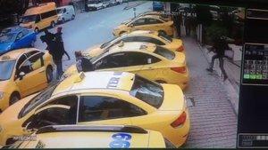Saldırgan taksiciye 950 TL ceza ve ihraç yolu