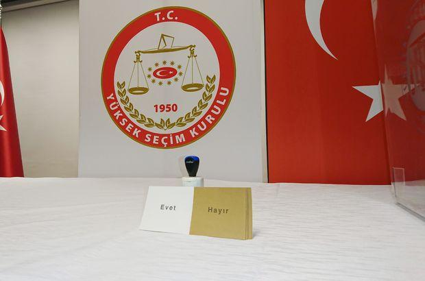 TRT'deki referandum konuşmaları 9-15 Nisan tarihlerinde yapılacak