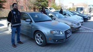 Aksaray'da kaçak otomobil operasyonu